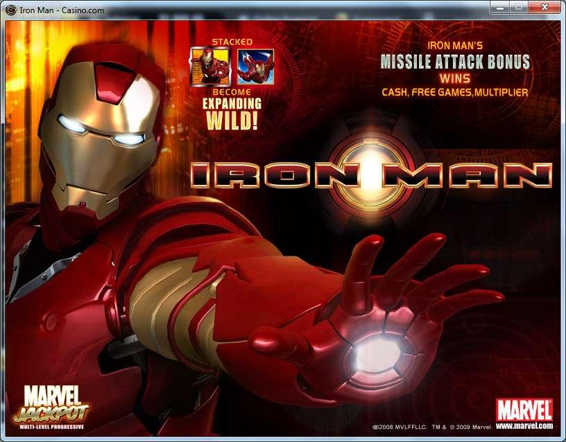 Было Iron Казино Man Вселенная была