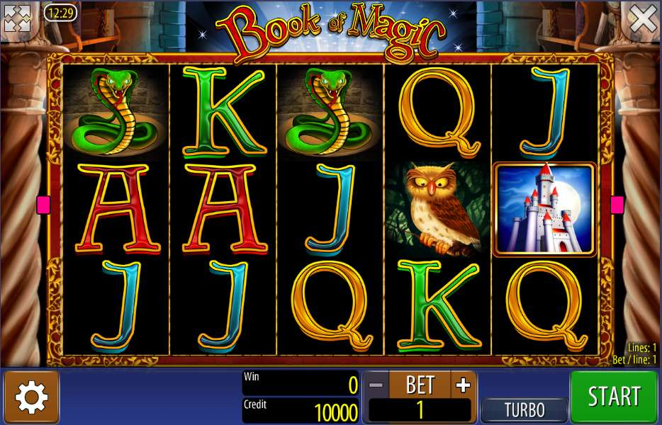 casino de online book of magic