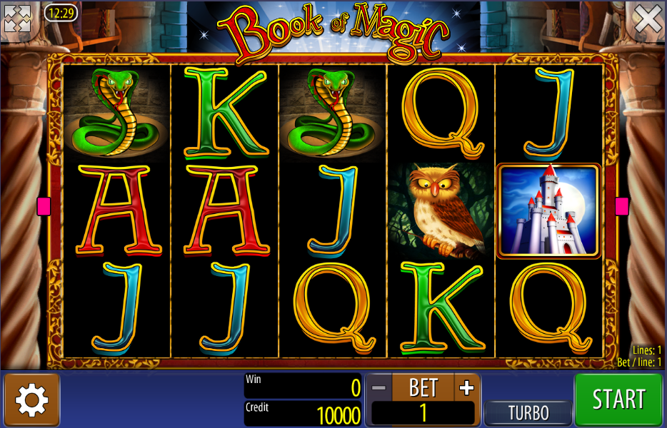 free casino play online book of magic