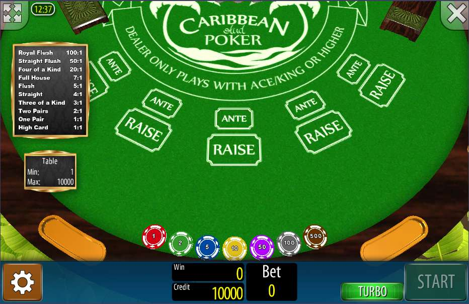Spiele Caribbean Stud Poker - Video Slots Online