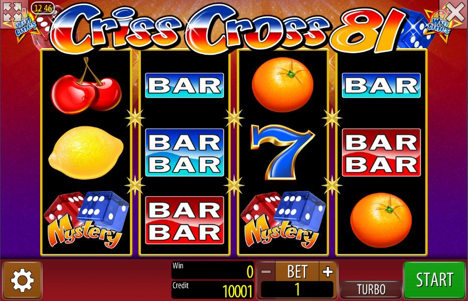 Criss Cross Casino Game