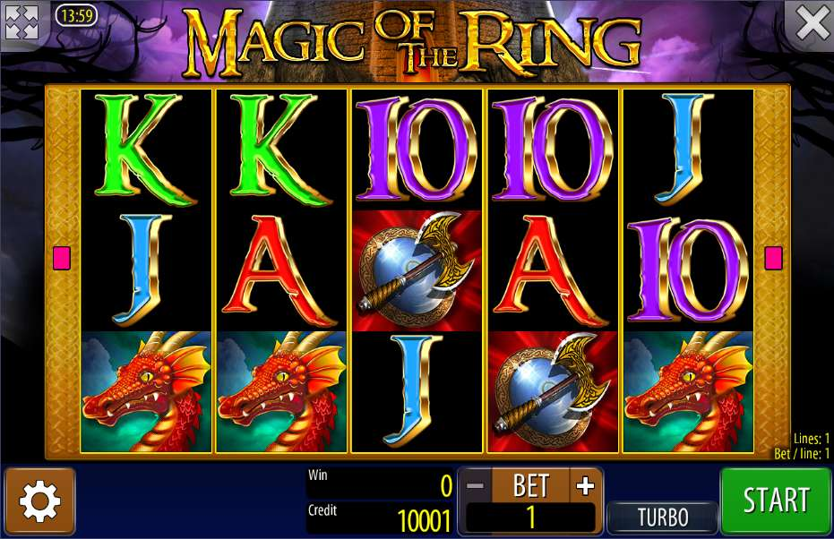Lord of the Rings slot machine Max bet - YouTube