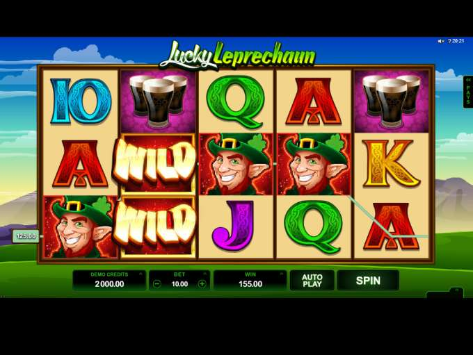 Spiele Lucky Leprechaun (Microgaming) - Video Slots Online