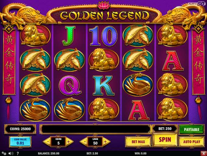 Spiele Golden Legend - Video Slots Online