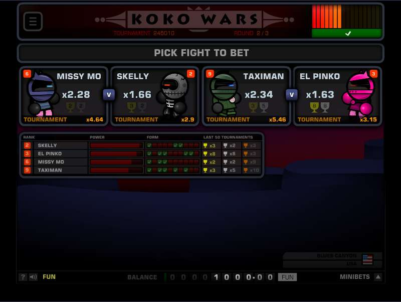 Play Koko Wars Other from 1x2gaming for Free