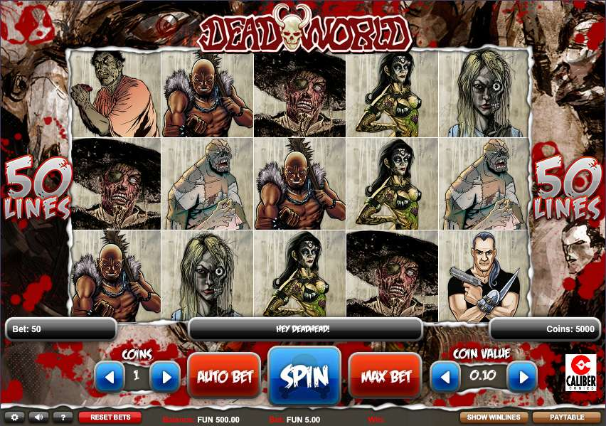 Deadworld by 1x2gaming