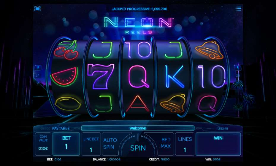 Neon Reels Slots - Try this Online Game for Free Now