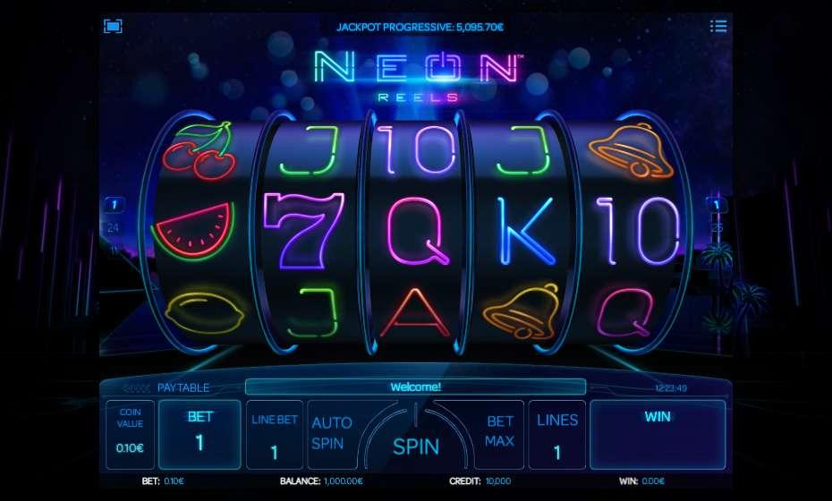 Neon Reels Slot Machine Online ᐈ iSoftBet™ Casino Slots