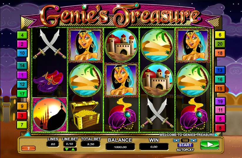 GenieS Treasure