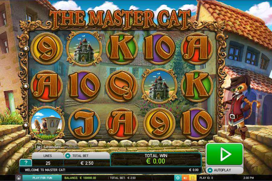Free cats slots game