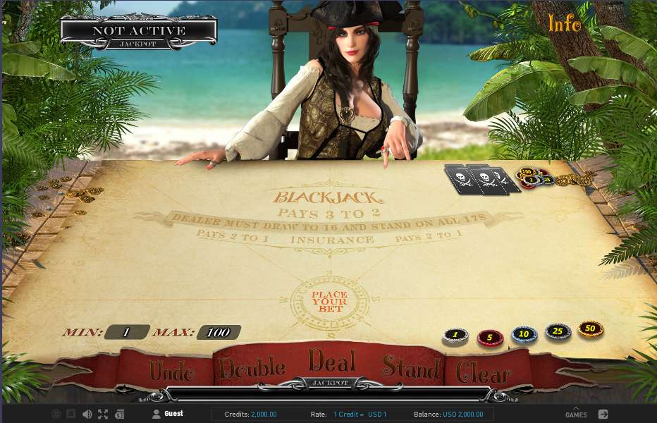 Blackjack by Gameplay Interactive