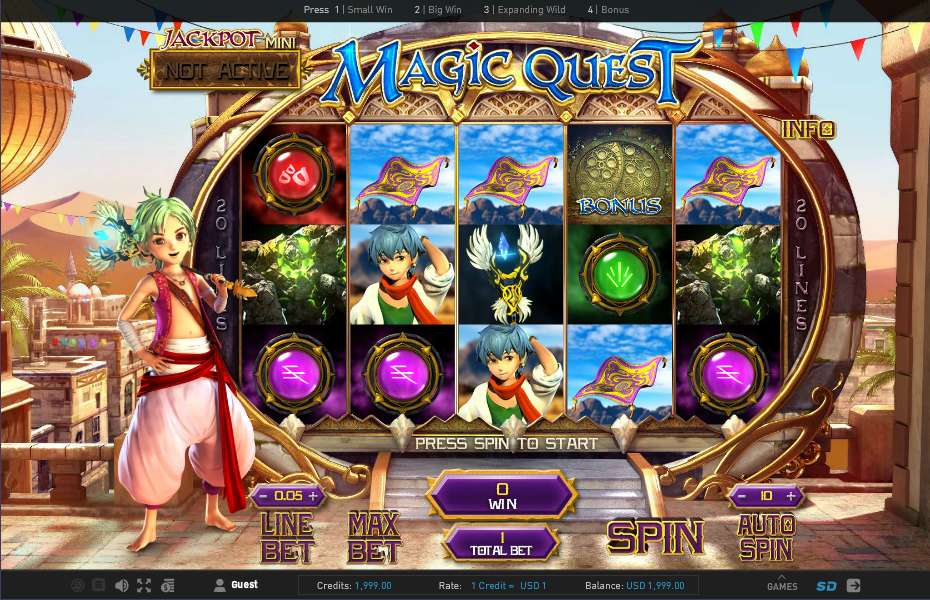 Magic Quest Slot - Try for Free Online