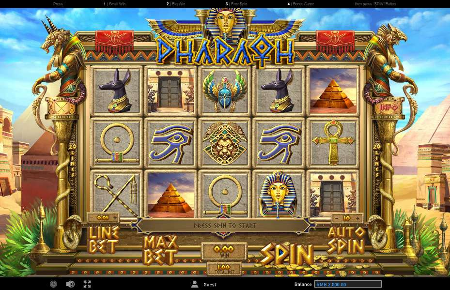 Pharaoh by Gameplay Interactive