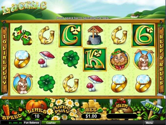 Spiele Lucky 6 - Video Slots Online