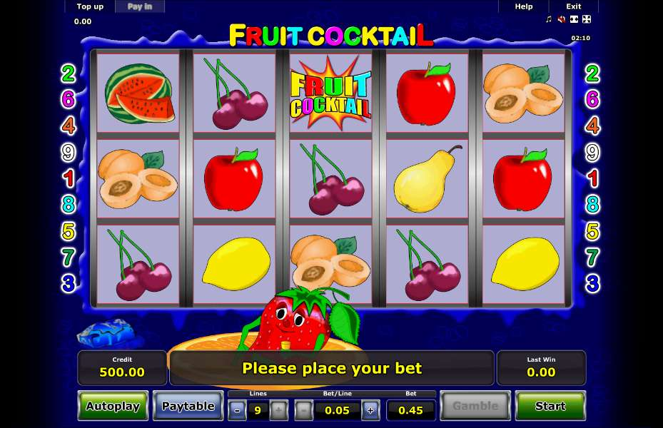 How to play Fruit Cocktail slot online