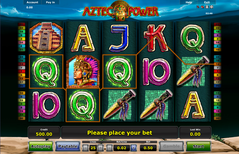 Power up with Aztec Power slot at Casumo casino