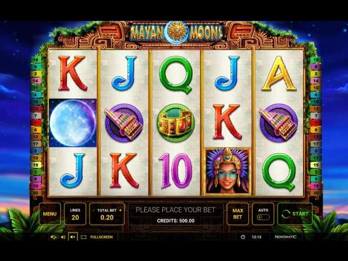 Mayan Moons Slot Machine