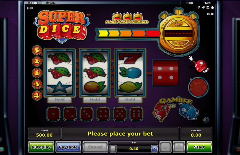 Spiele Super Dice - Video Slots Online
