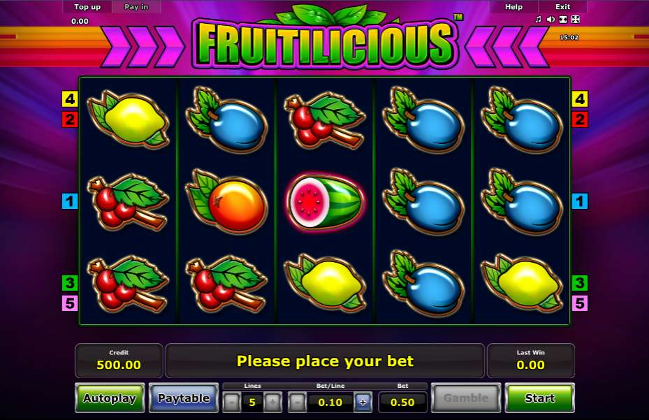 Fruitilicious Slots - Play Novomatic Casino Games Online