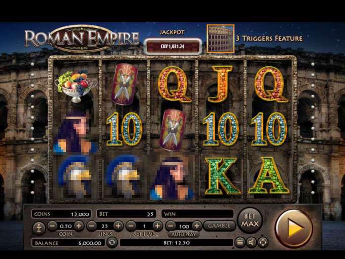 Free Roman Empire Slot Machine Online