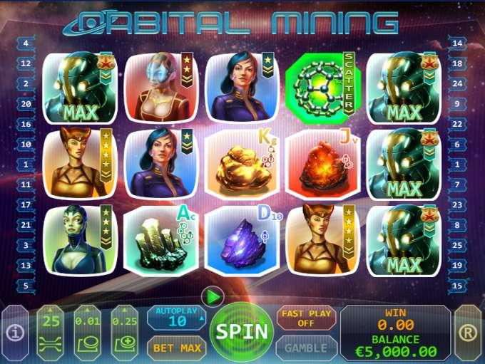 Play Orbital Mining online with no registration required!