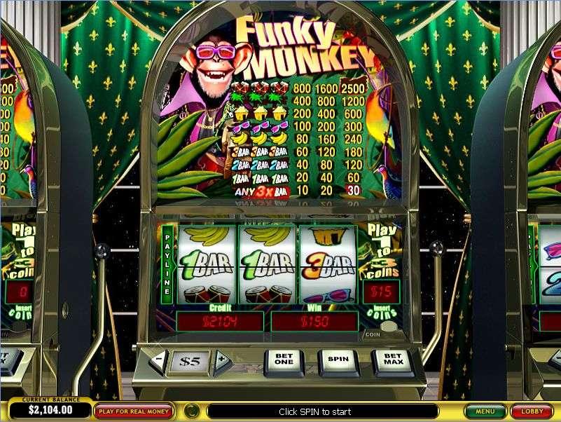 Play Funky Monkeys Slots Online at Casino.com NZ