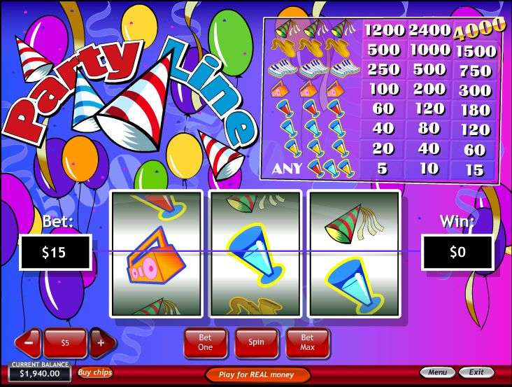 Party Line Slot by Playtech