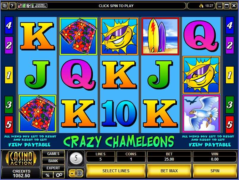 Crazy Chameleons Slot Is Free To Play With No Registration Required