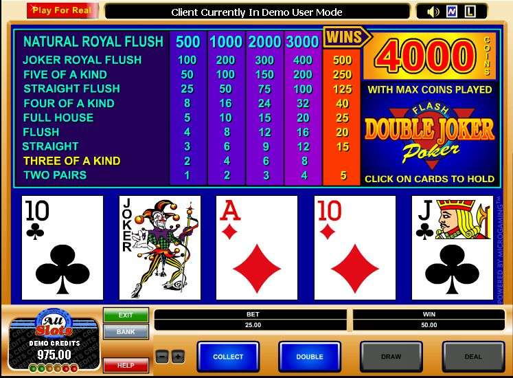 casino games free online joker poker