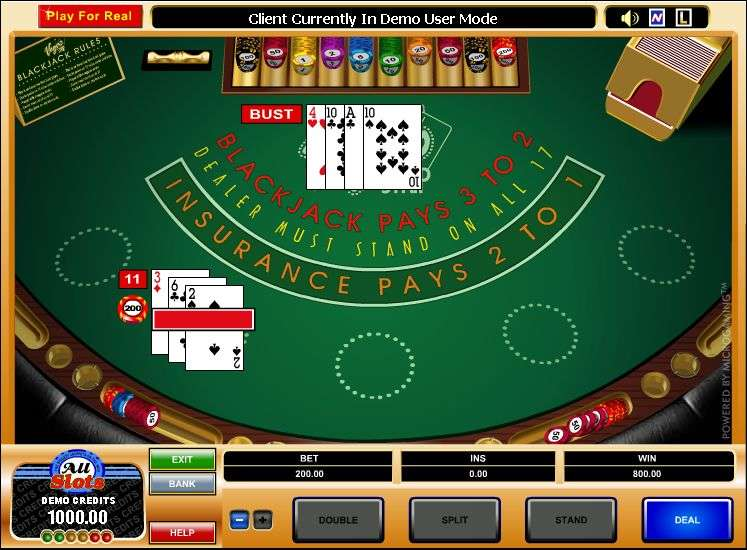 Play free blackjack online with the most advantageous rules of Vegas Strip Blackjack