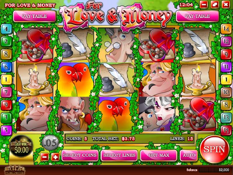 For Love And Money Slots - Play Free Rival Slots Online