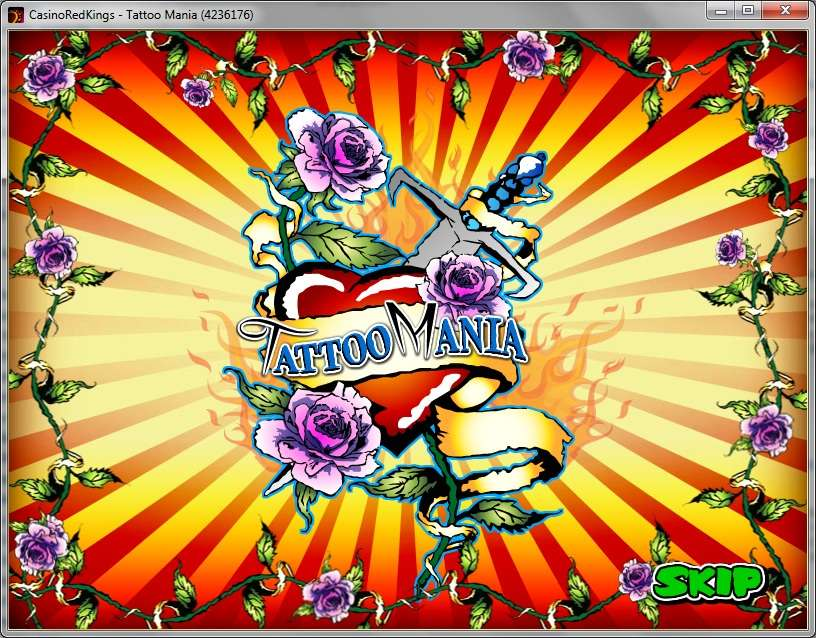 Play Tattoo Mania Video Slot from Skill on Net for Free