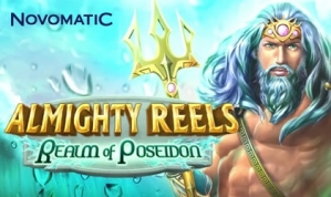 Novomatic drops Almighty Reels- Realm of Poseidon