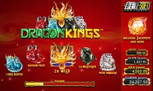 Myths come alive in betsoft's dragon kings slot