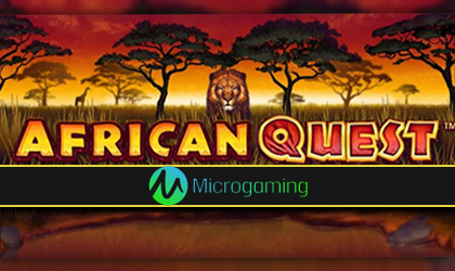Enjoy the Safari and Potentially Win Lucrative Rewards in African Quest by Microgaming