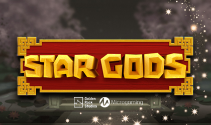 Golden Rock Studios Releases Star Gods Slot in Cooperation with Microgaming