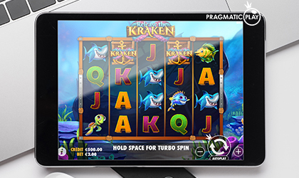 Pragmatic Play Goes Deep Underwater in Search of Riches in Release the Kraken