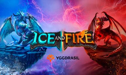Yggdrasil Takes on Dragons and Epic Battles in Ice and Fire Slot