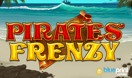 Find Treasure in Pirates Frenzy Release from Blueprint Gaming