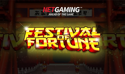 NetGaming Takes Players on a Thrilling Ride in the Festival of Fortune Slot