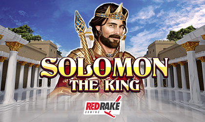 Red Rake Gaming Goes Live with Solomon The King Slot
