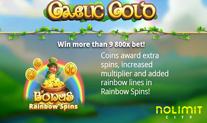 Find the Treasure Hidden in Gaelic Gold by Nolimit City