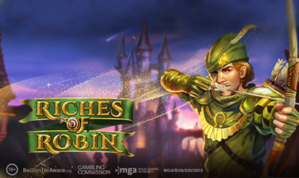 Play n GO Unleashes Riches of Robin Slot