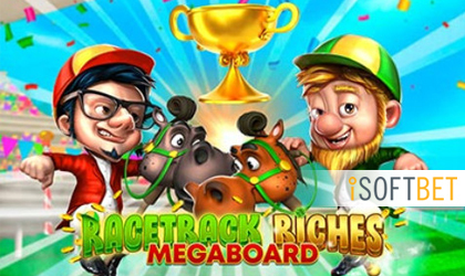 iSoftBet Launches Racetrack Riches Megaboard Exclusively at Planetwin365 Casino