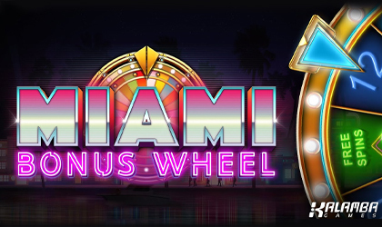 Kalamba Games Drops a Massive Party in Miami Bonus Wheel