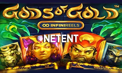 Explore the Mysteries Tombs in Gods of Gold InfiniReels