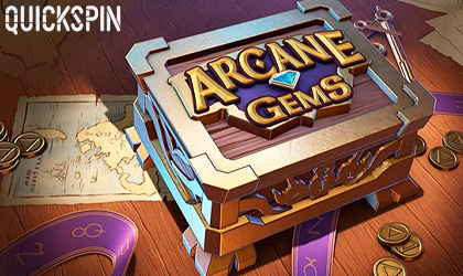 Quickspin Announces the Release Date for Arcane Gems