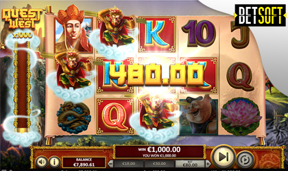 Betsoft Launches Quest to the West Slot Game