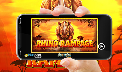 Blueprint Gaming Goes Back to Africa with Rhino Rampage