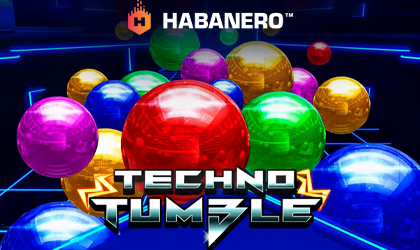 Habanero Goes High Tech in Techno Tumble Slot